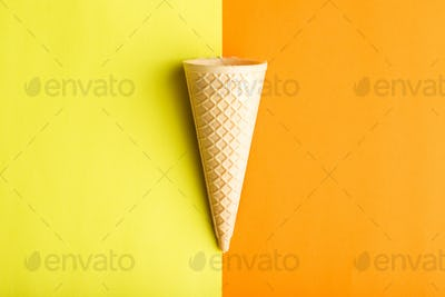 Ice cream cone.