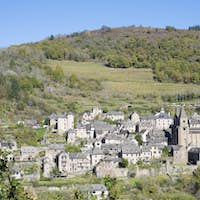 view of Conques