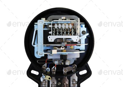 Electromechanical electricity meter