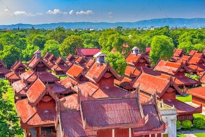 Mandalay Palace Buildings