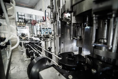 Equipment for bottling on microbrewery