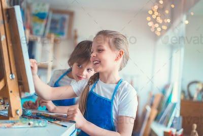 Painting school