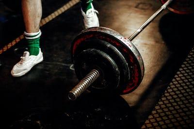 feet male athlete powerlifter
