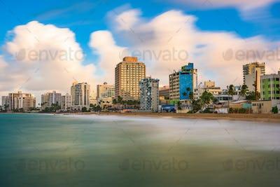 San Juan Beach Skyline
