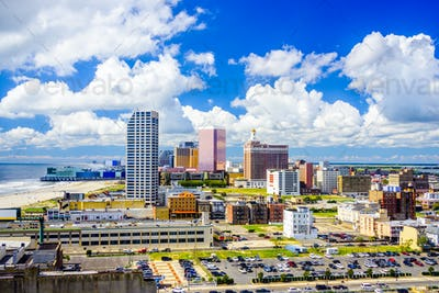 Atlantic City, New Jersey Skyline