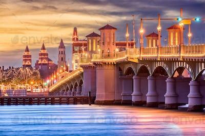 St. Augustine, Florida, USA Skyline