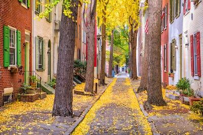 Philadelphia, Pennsylvania, USA Autumn
