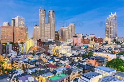 Tokyo Japan Financial District