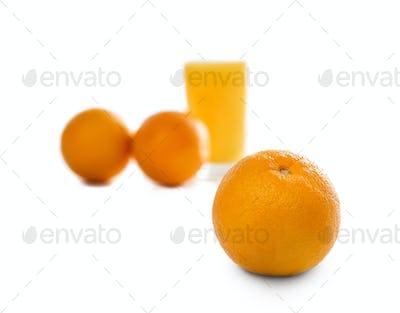 fresh orange sunkist