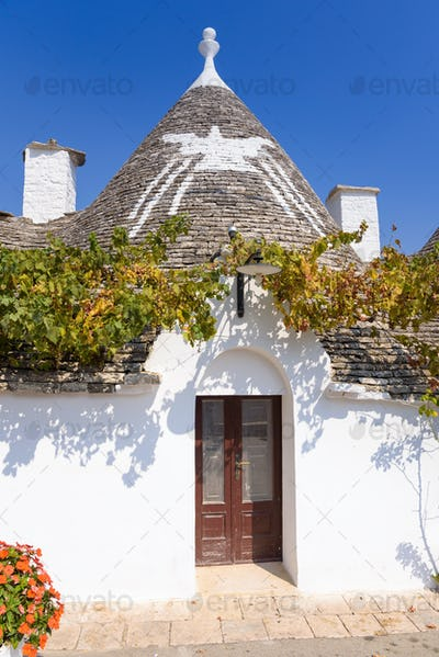 Architecture of Alberobello town