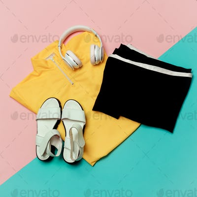 Set Sport Lady Fitness Trends Urban Clothing