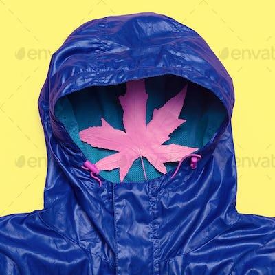 Hello Rains Season. Urban street fashion. Minimum Design Idea Ho