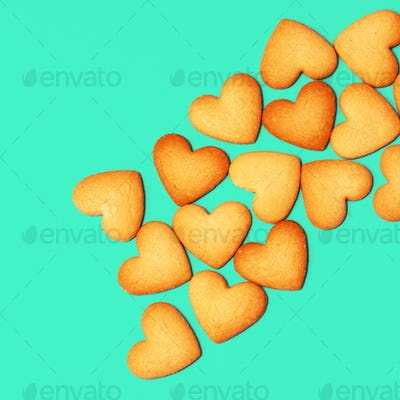 Love Cookies Minimal art  Candy colors