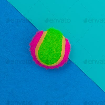 Beach ball. Summer vibrations. Minimal