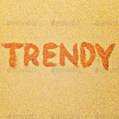 Text Trend Minimal Design Style