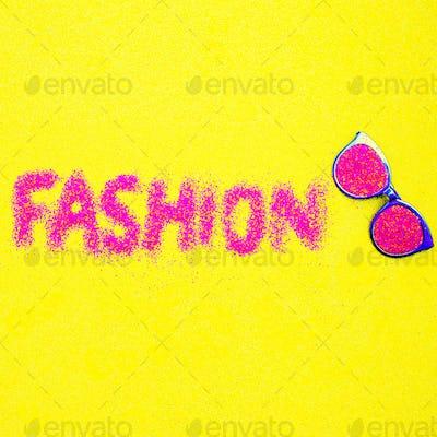 Sunglasses fashion minimal art
