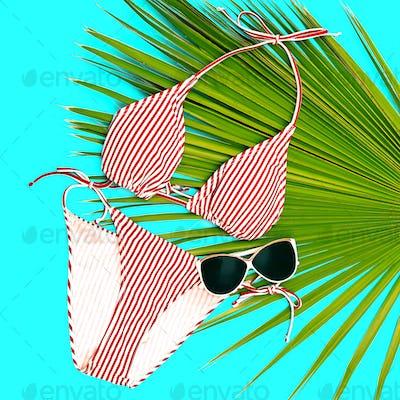 Beach fashion. Stylish bikini