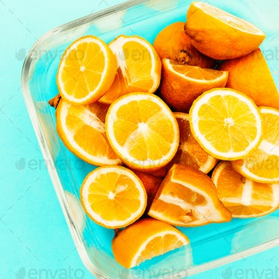 Lemons. Vitamin C Creative Food Ideas