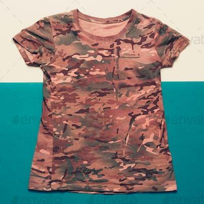 Shirt military style minimalist fashion