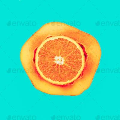 Mix Orange Papaya Love fruit. Fresh tropical ideas. Minimal Crea