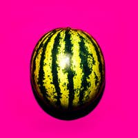 Watermelon. Minimal food ideas
