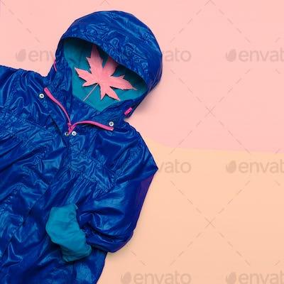 Hello Rains Season. Urban street fashion. Minimal design Idea Ho