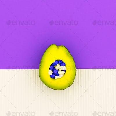Avocado Art Minimal Design