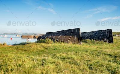 Boat Sheds At Lindisfarne
