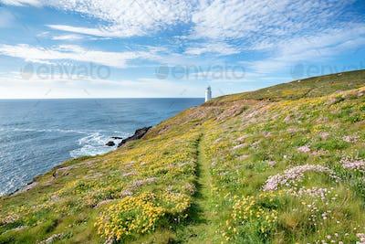 Trevose Head in Cornwall