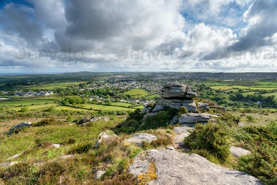 Carn Brea in Cornwall