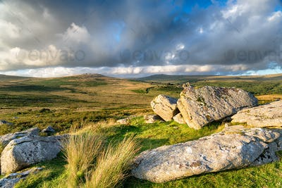 Heckwood Tor on Dartmoor