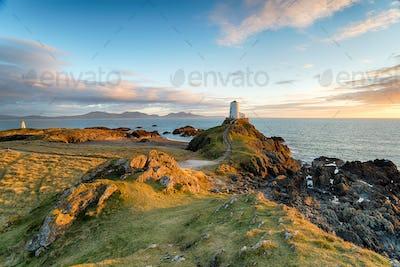Llanddyn Island in Anglesey