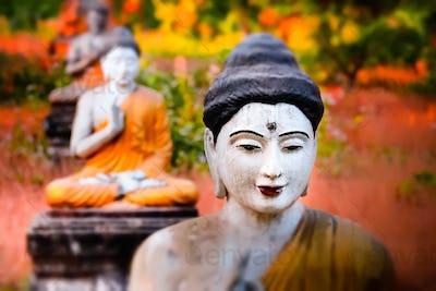 Buddha Garden. Hpa-An, Myanmar (Burma)