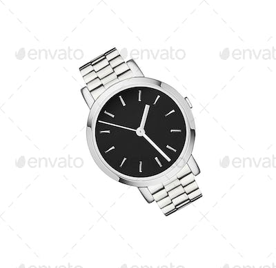 luxury watch isolated on a white