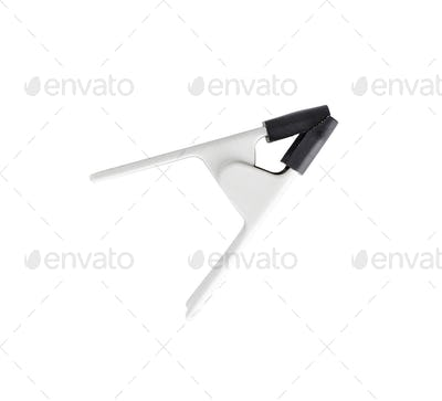 clothes pin on a white background