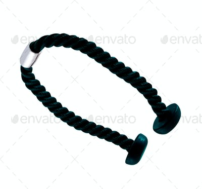 triceps extension rope isolated