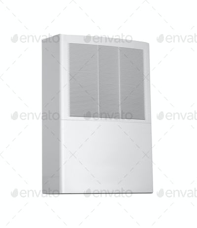 White color air conditioner