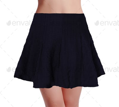 skirt isolated on a white background