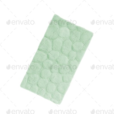 carpet texture isolated on white