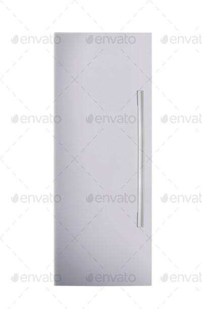 fridge freezer isolated on white background