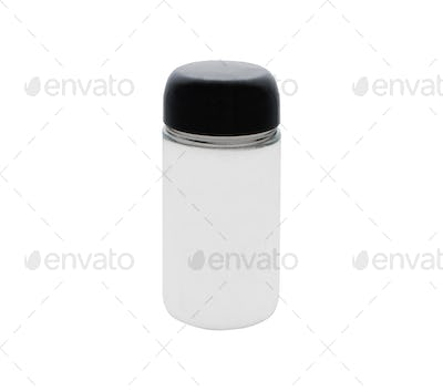 Can with hand cream isolated