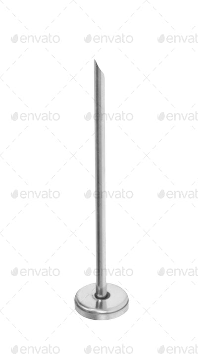 injection needle. Isolated on white background