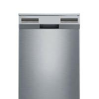 modern dishwasher isolated on white