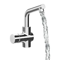 Chrome Faucet Isolated