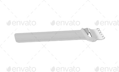 A can opener isolated on white