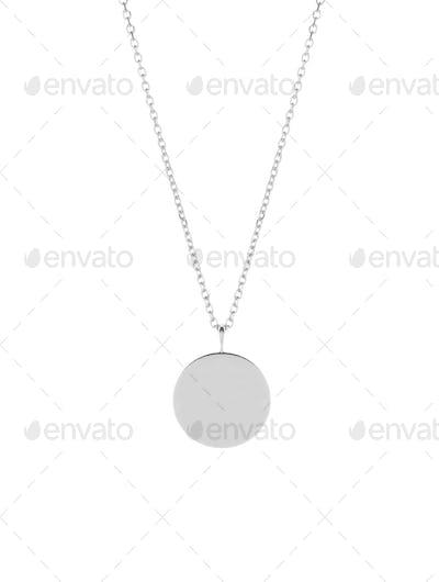 medallion isolated on white