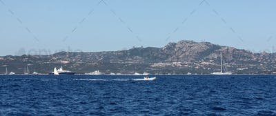 Sardinia Coast At Portisco