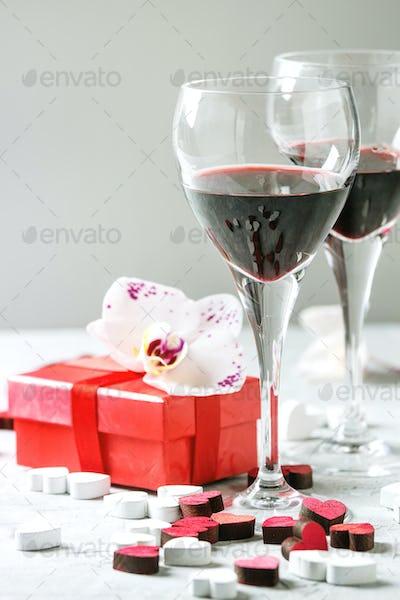 Love Valentine greeting card
