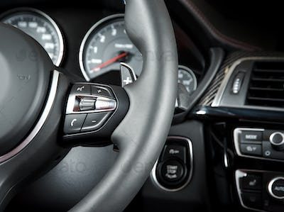 Buttons on the steering wheel