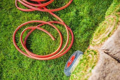 New Natural Grass Installation